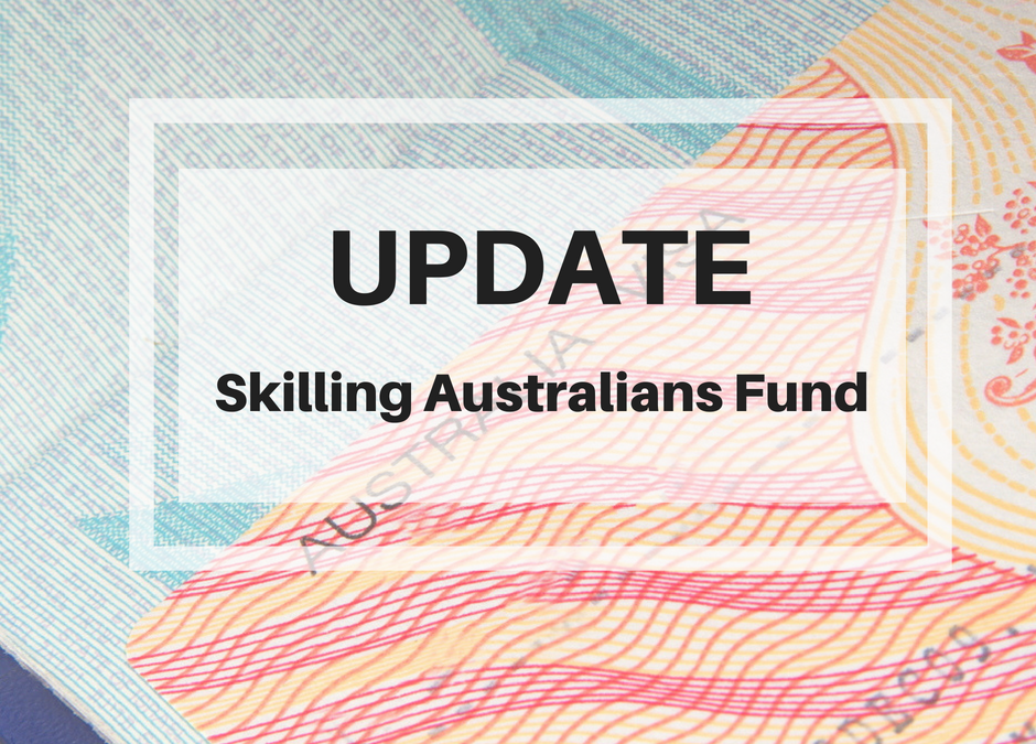 What does the Skilling Australians Fund mean for Australian Employers?
